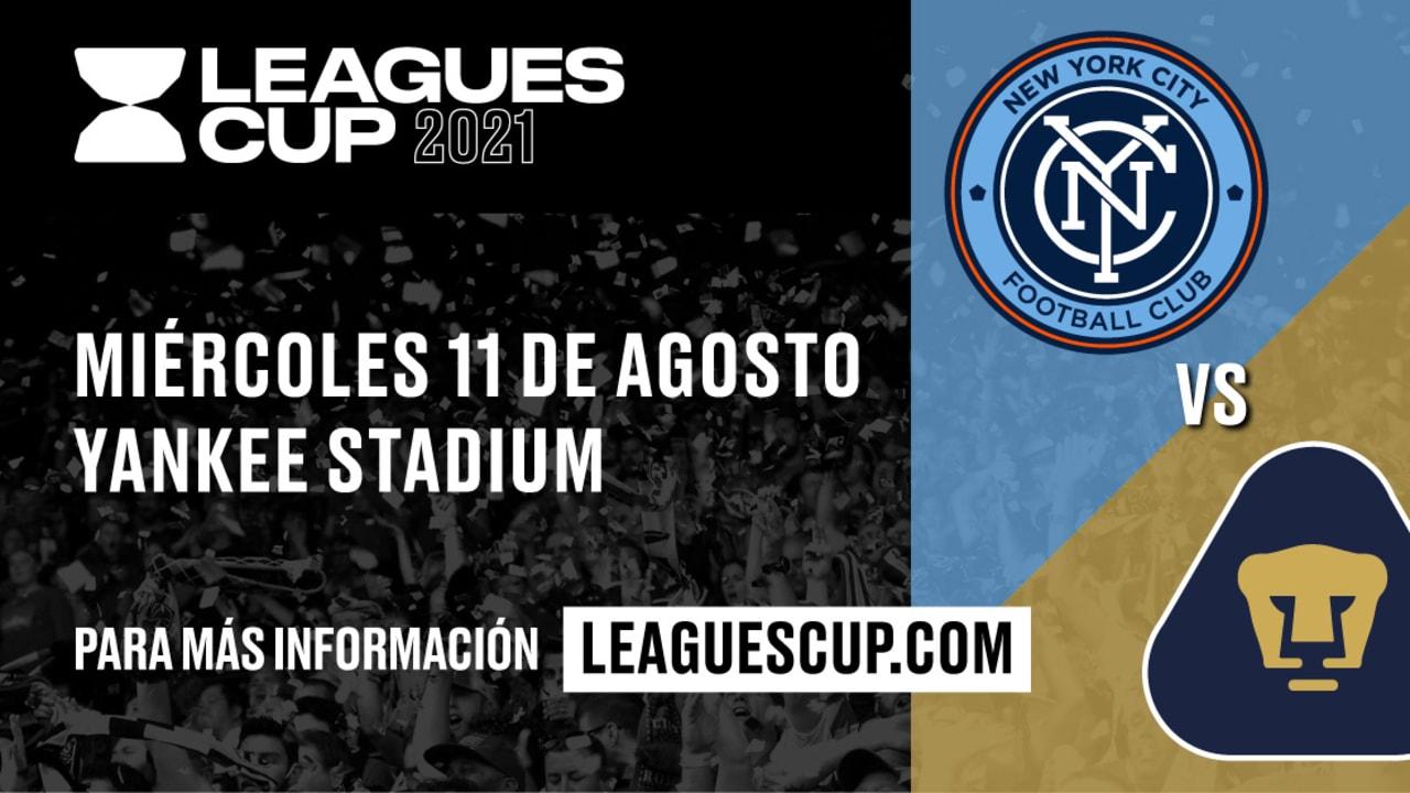 Pumas vs New York FC