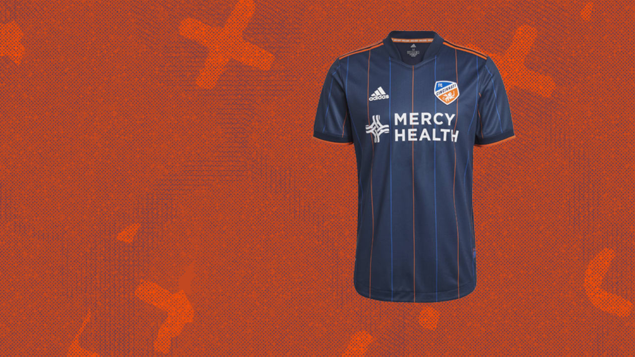 FC Cincinnati unveil the Dynamic Kit as primary jersey for 2021 ...