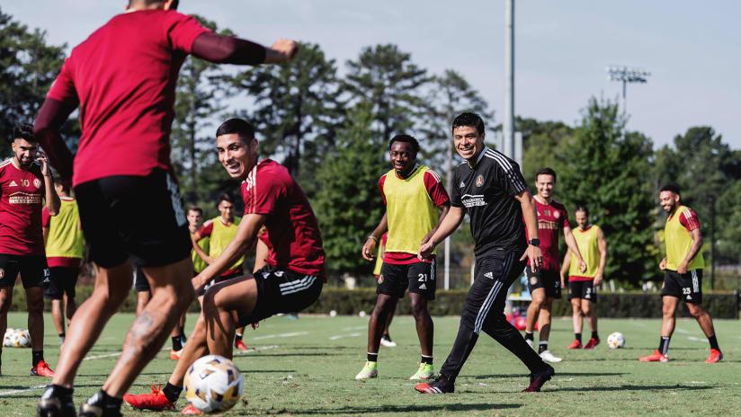 Atlanta United Training Notebook September 14, 2021