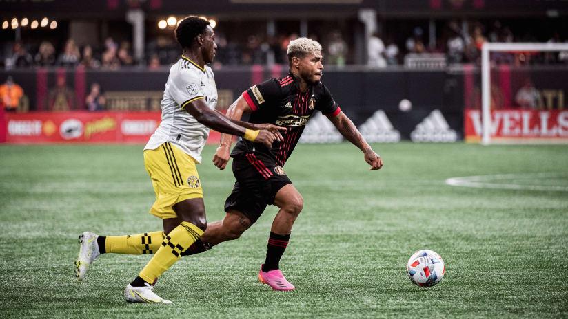 Atlanta Untied FC vs. Columbus Crew Saturday July 24, 2021 Mercedes-Benz Stadium Kanye West