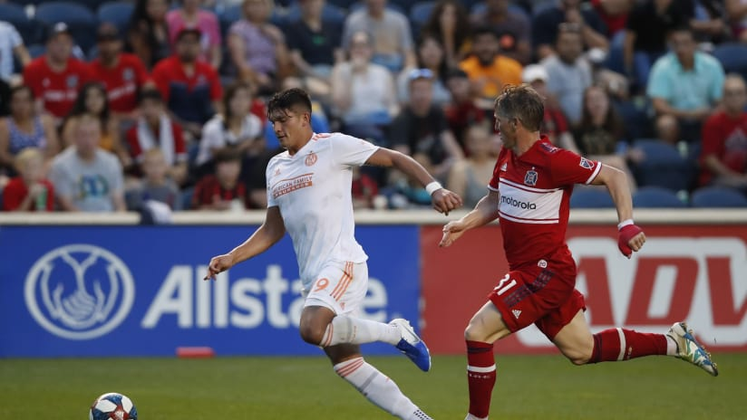 Atlanta United falls 5-1 to Chicago Fire