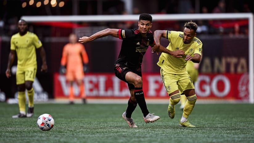 Match Recap Atlanta United vs. Nashville SC August 28, 2021 Gonzalo Pineda Debut