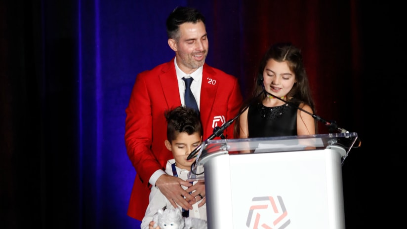 Carlos Bocanegra Inducted into National Soccer Hall of Fame photo by National Soccer Hall of Fame