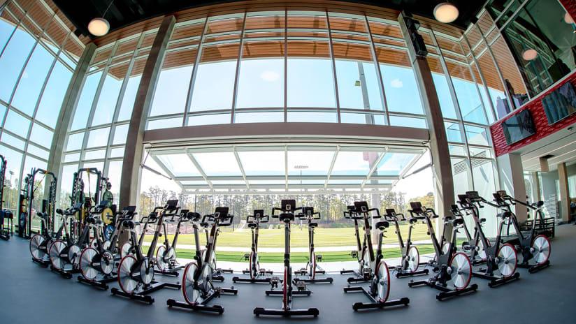 Children's Healthcare of Atlanta Training Ground Insider: The Gym - https://atlanta-mp7static.mlsdigital.net/images/CHOA_TrainingGround_Gym.jpg