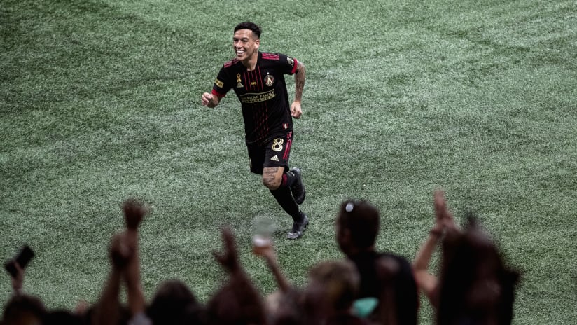 Ezequiel Barco earned a spot on MLS Team of the Week for the sixth time this season after scoring a world-class goal against D.C. United on Saturday.