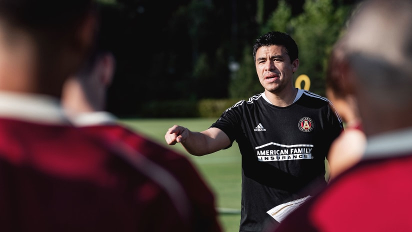 Training Notebook: Gonzalo Pineda's First Day at the Training Grounds August 24, 2021