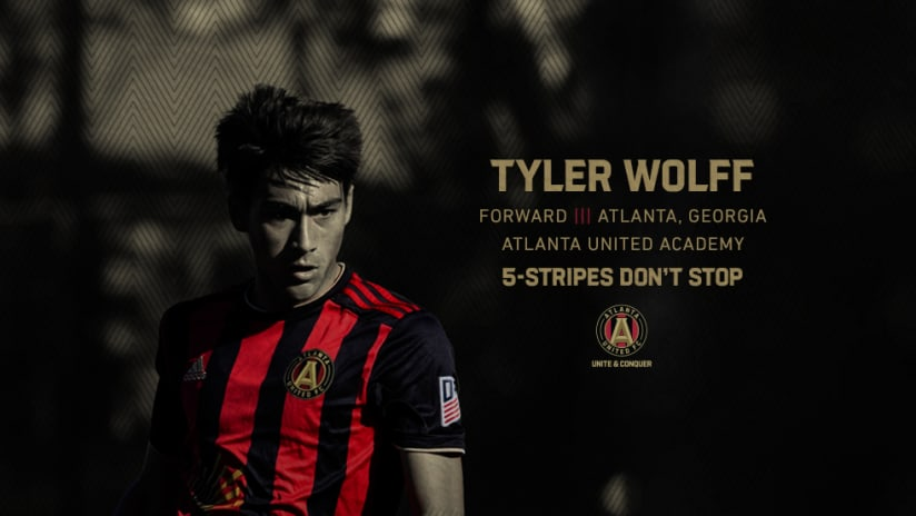Atlanta United signs Tyler Wolff as Homegrown Player