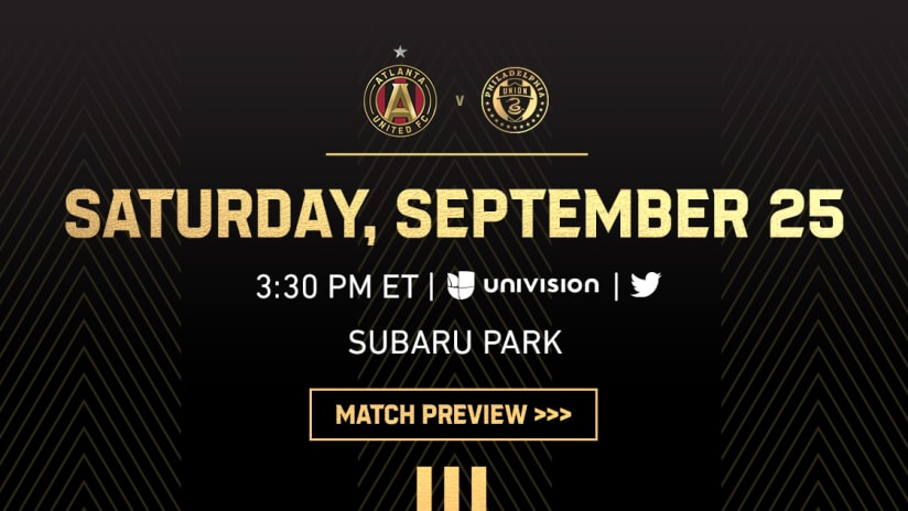 Match Preview: Atlanta United vs. Philadelphia Union