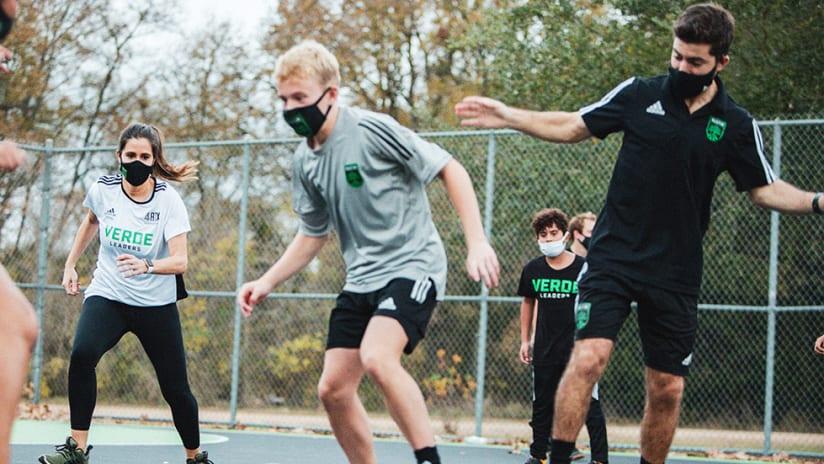 Verde Leaders Bring Kids Together Through Soccer