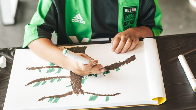 Austin FC Brings City's Creative Community Together with ATXFC Artist Initiative