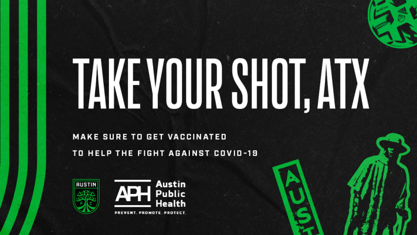 Austin FC Joins Forces With Austin Public Health To Promote COVID-19 Vaccines