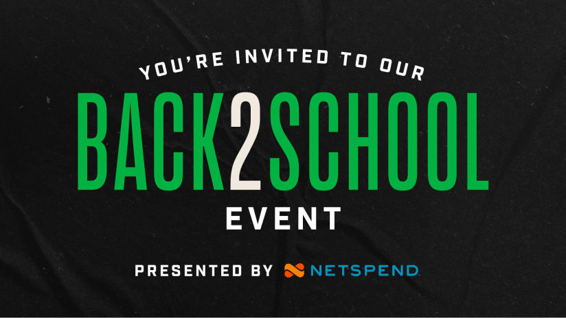 Austin FC and Netspend to Host Back-to-School Event