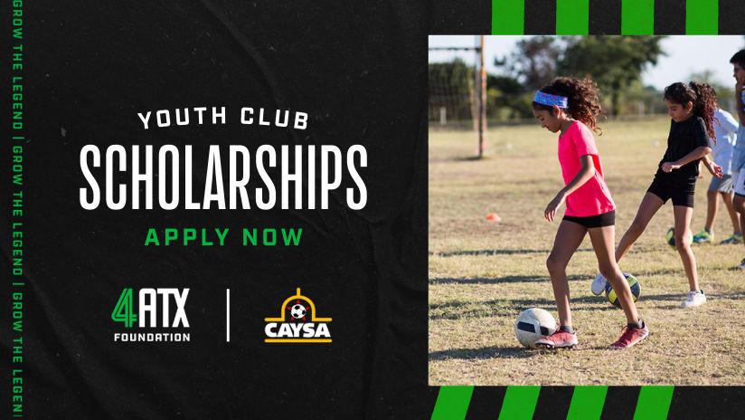 Applications Now Open for 2021-22 CAYSA Junior Scholarship Program