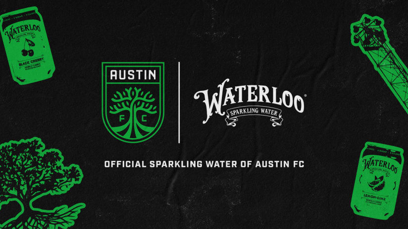 Austin FC and Austin-Based Waterloo Sparkling Water Become Official Partners