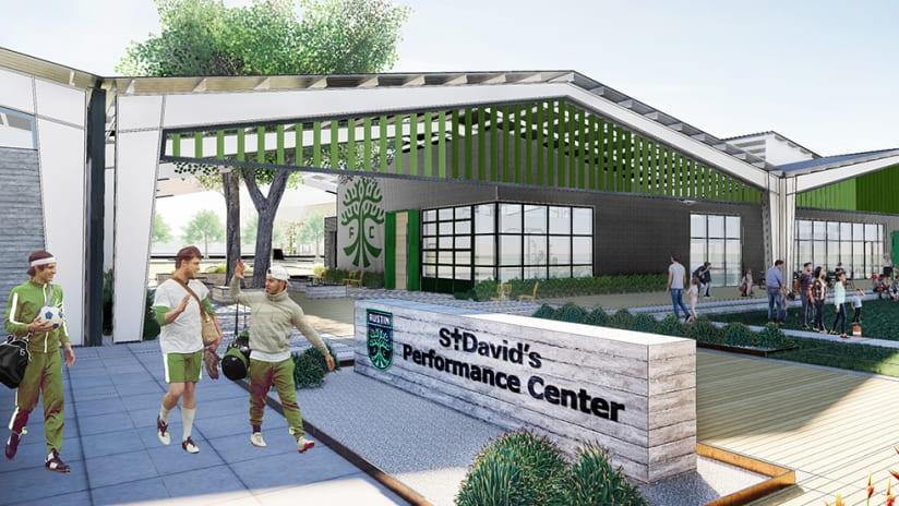 Austin FC Announces Plans for St. David's Performance Center