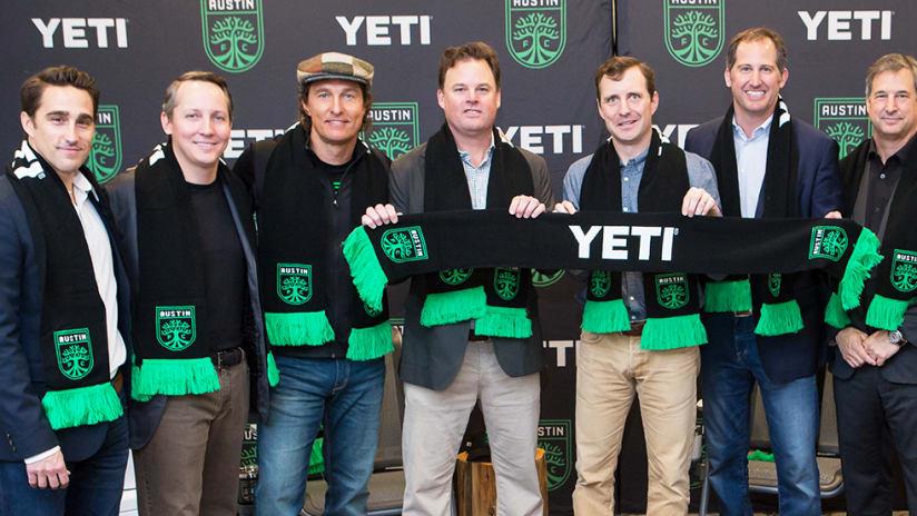 Yeti Named Official Jersey Sponsor of Austin FC