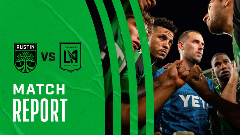 Match Report: Austin FC vs. LAFC | Sept. 15, 2021