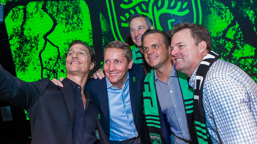 Austin FC Expands Ownership Group to Include Accomplished Austinites