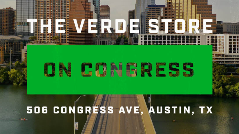 """Austin FC Announces Grand Opening of """"Verde Store on Congress"""""""