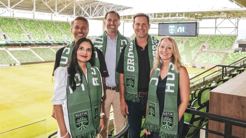 NI Announced as Official Sponsor of Austin FC