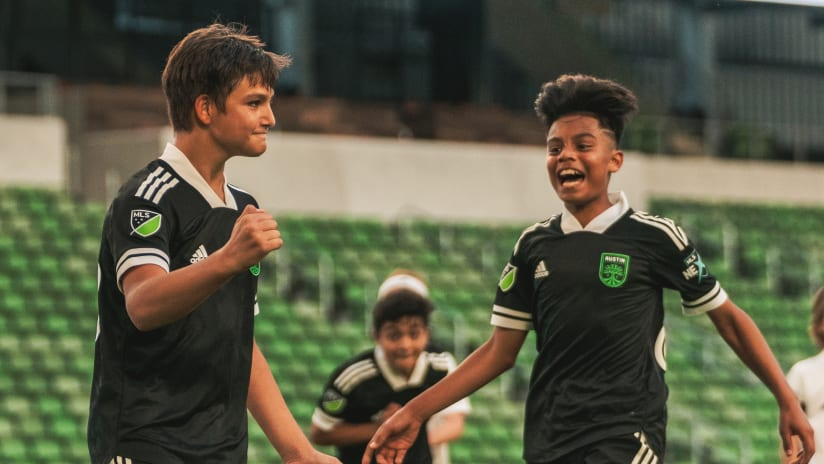Signs of Success Abound in Austin FC Academy's Second Season