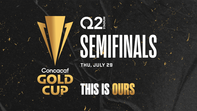 Q2 Stadium to Host 2021 CONCACAF Gold Cup Semifinal