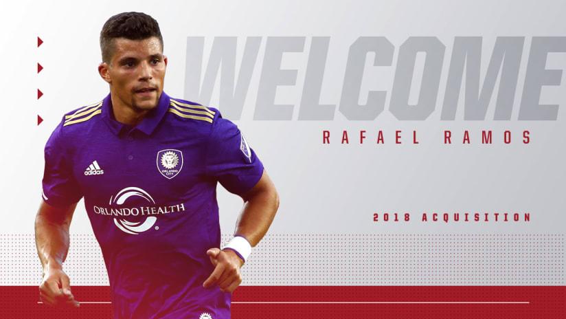 Welcome Rafael Ramos