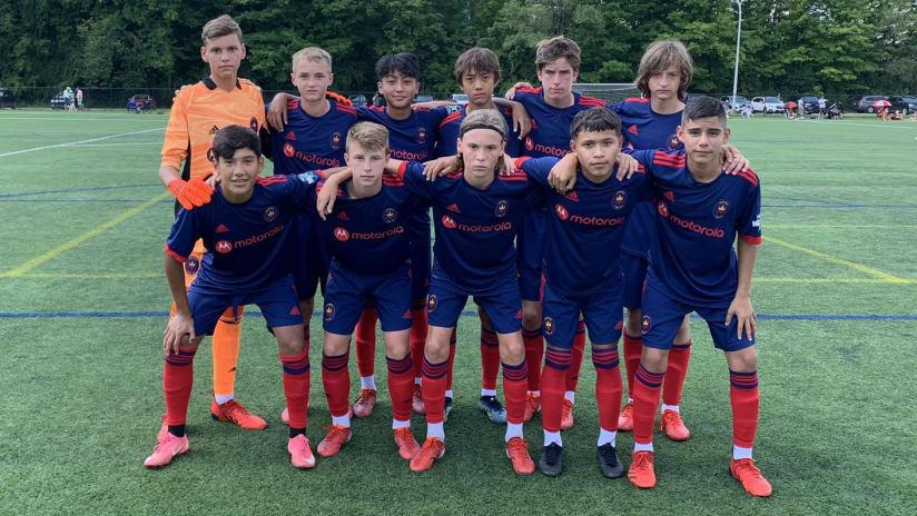 Chicago Fire FC Academy Kicks Off 2021-22 MLS NEXT Season