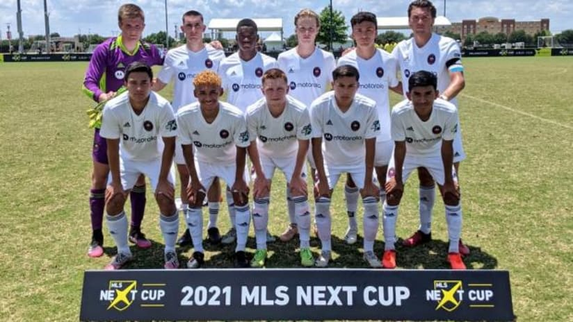 Chicago Fire FC U-19 Academy Team Advances to MLS Next Final After 5-1 Win against Real Colorado