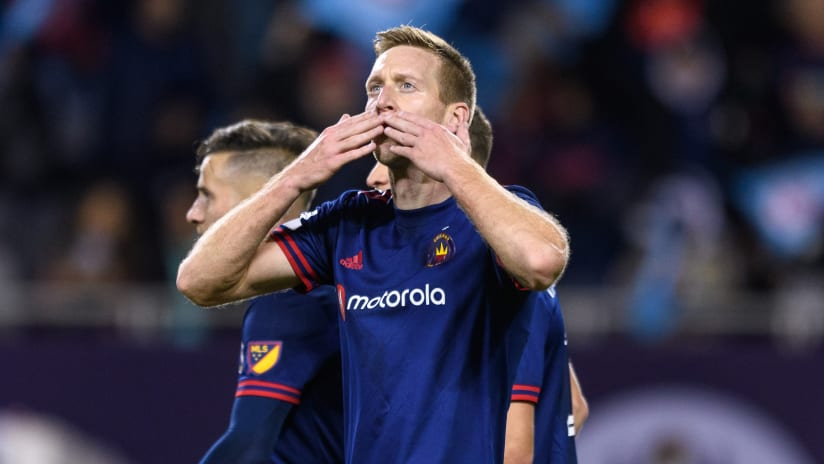 GOAL   Berić puts Fire ahead just moments before halftime against Real Salt Lake