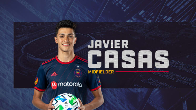 javier casas welcome graphic