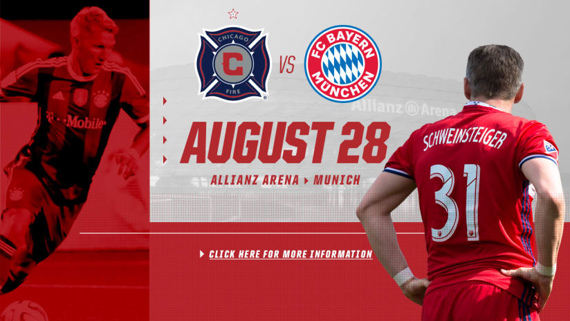 Fire at at Bayern announcement graphic