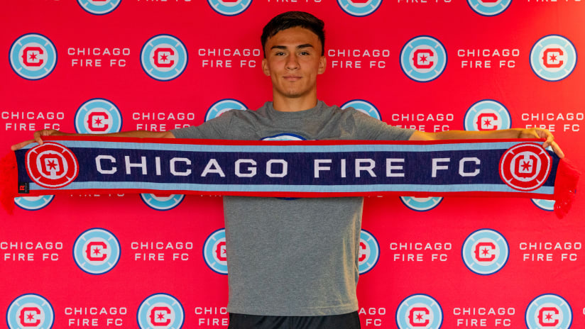 Chicago Fire FC Sign Academy Forward Missael Rodríguez to Homegrown Player Contract