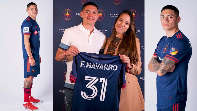 Federico Navarro has big dreams for Chicago Fire career