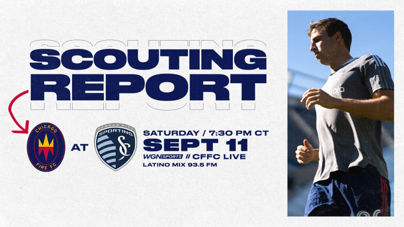Scouting Report | Fire Road Trip Resumes Saturday at Sporting Kansas City