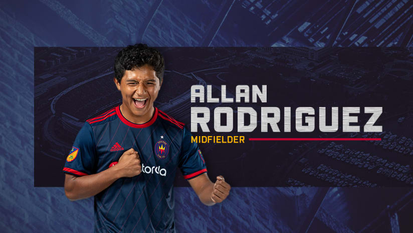 allan rodriguez welcome graphic