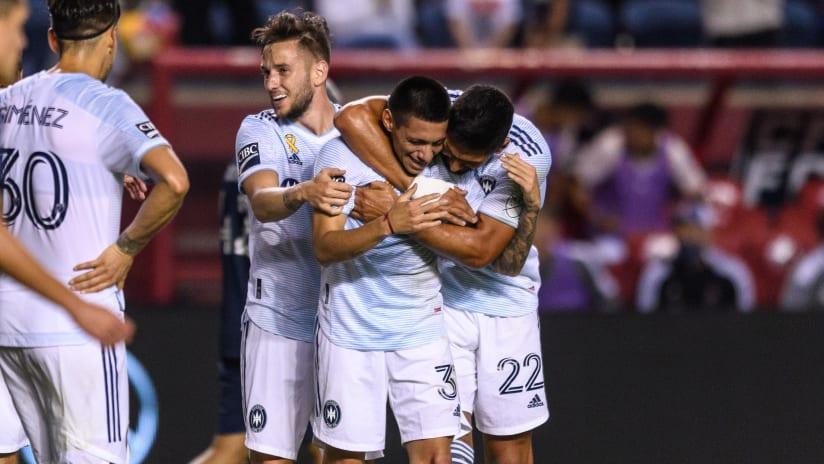 Federico Navarro named to MLS Team of the Week for Week 28