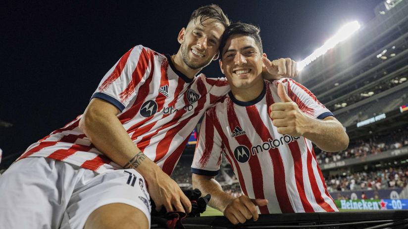Ignacio Aliseda, Álvaro Medrán earn Week 11 MLS Team of the Week honors