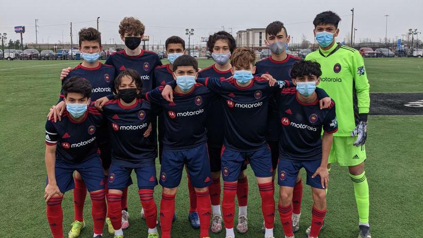 academy u-15s MLS next