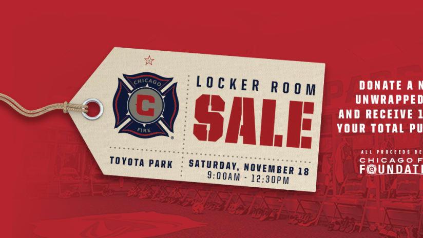 2017 Locker Room Sale