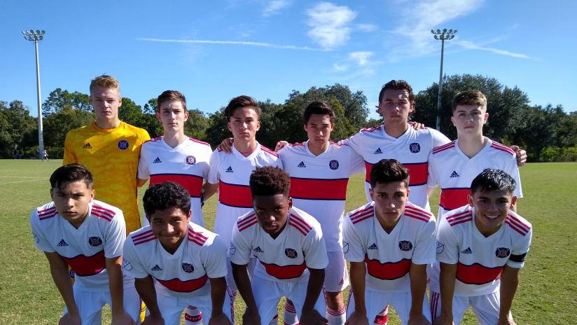 academy u-17s
