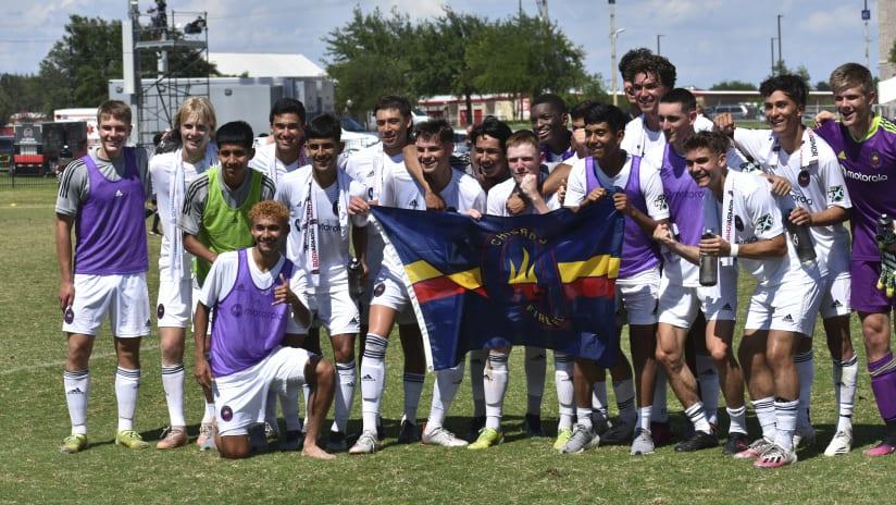 Chicago Fire FC U-19 Academy Team Wins MLS Next Championship