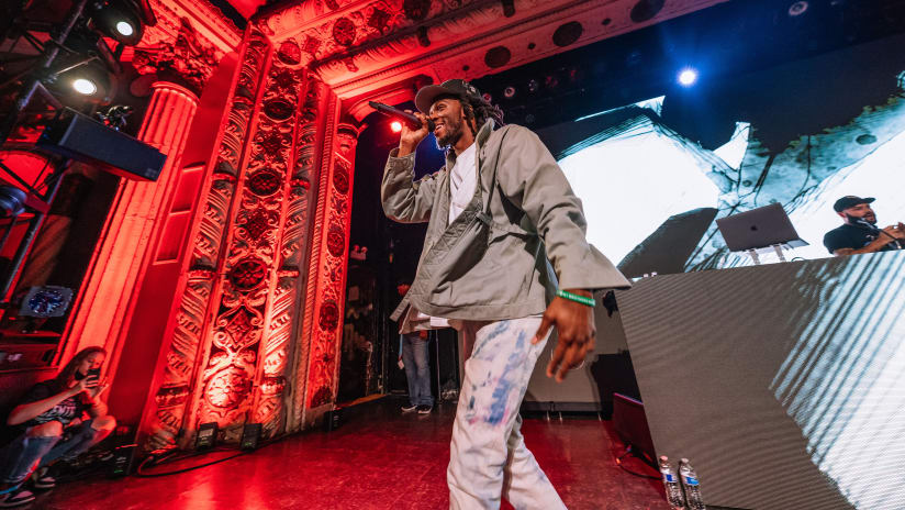 Gallery | Saba, Knox Fortune, DJ King Marie, and DJ Step Rock The Metro at Ten/Eight