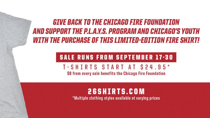 fire foundation 26shirt
