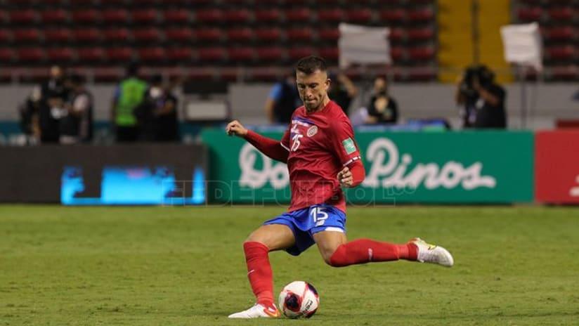 Francisco Calvo, Gastón Giménez start for national teams in World Cup Qualifying