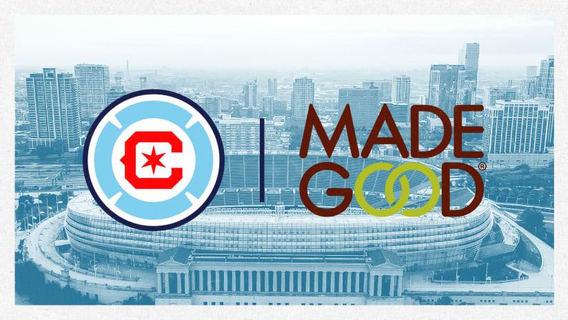 Chicago Fire Anuncia Nueva Asociación con MadeGood Foods