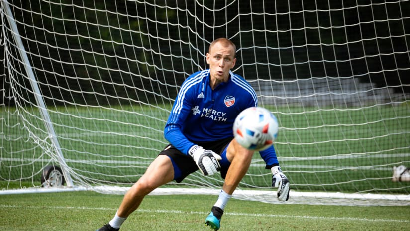 FC Cincinnati waive goalkeeper Cody Cropper