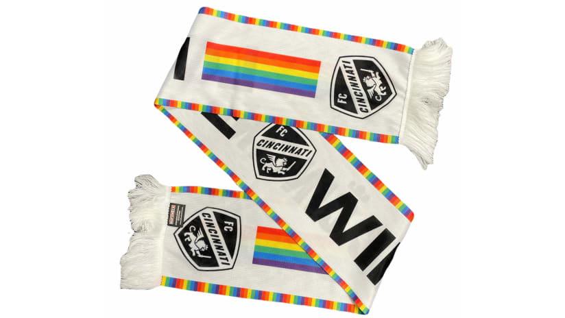 FC Cincinnati Pride Scarf