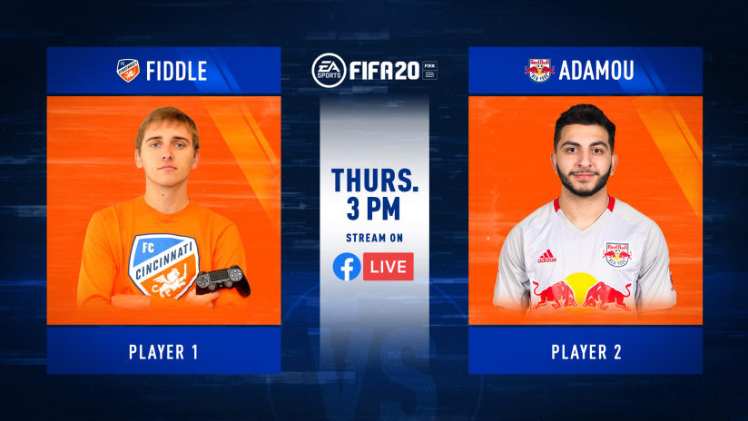 Watch Live: Fiddle vs. Adamou