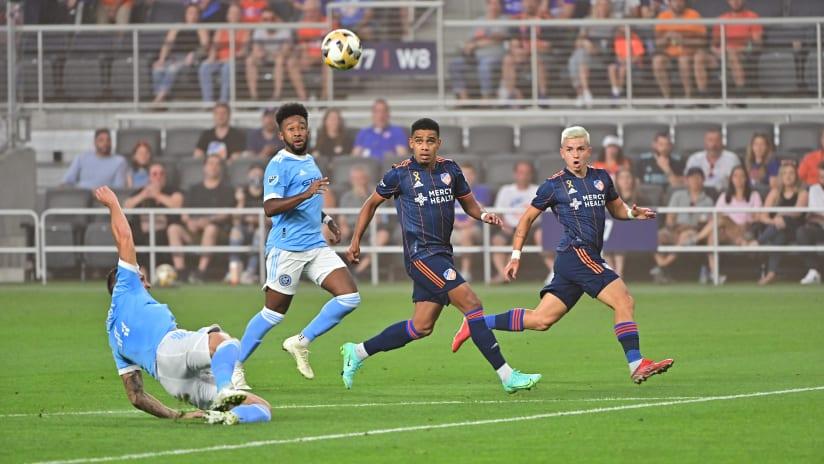 FC Cincinnati Drop 2-1 Decision to NYCFC